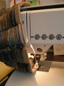 Sewing Top Edge