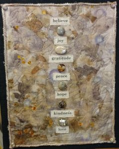 Sally's Eco Print Art Quilt