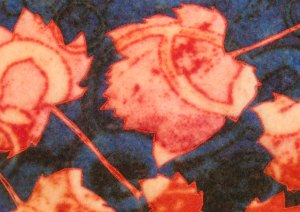Stitching on Printed Felt
