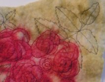 Stitched Roses