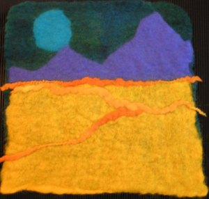 Felted Fauvism Challenge