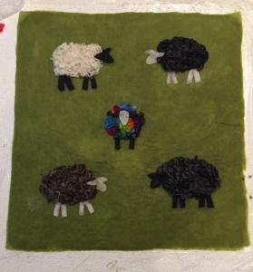 green-sheep-wet