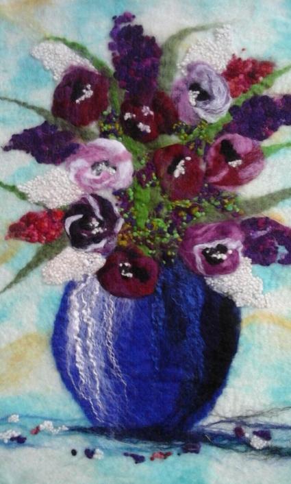 VASE OF FLOWERS BEFORE