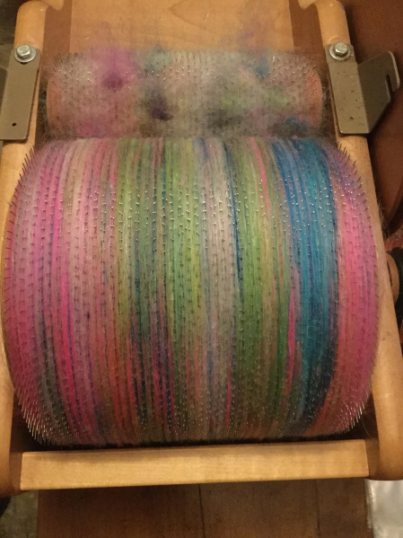DAWN - BATT ON DRUM CARDER