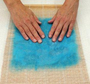 flatten the fibres