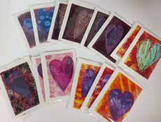 heart cards ready to sell