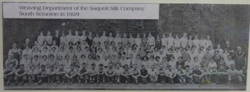 this was a cool shot lots of wimon working in the silk company in 1929