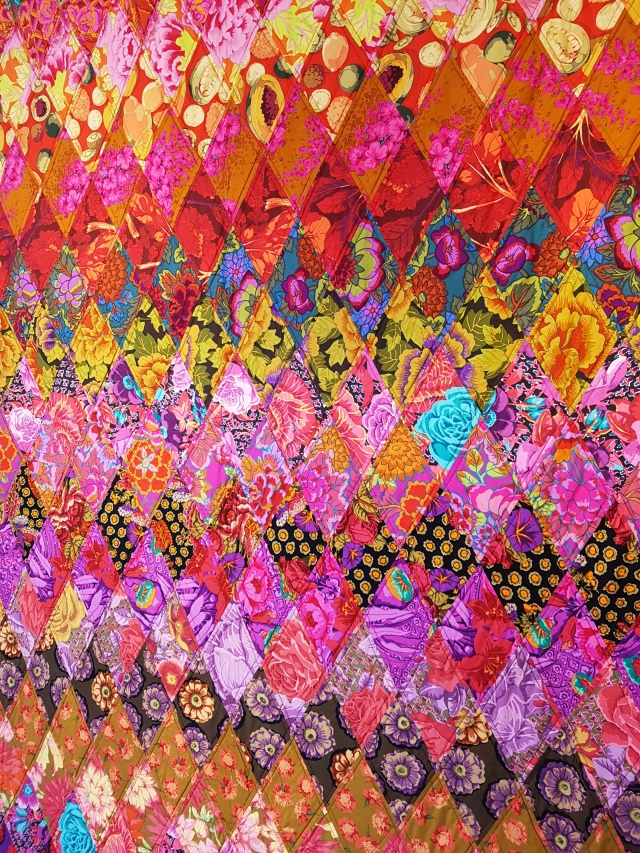 Kaffe Fassett Exhibition at Mottisfont 1