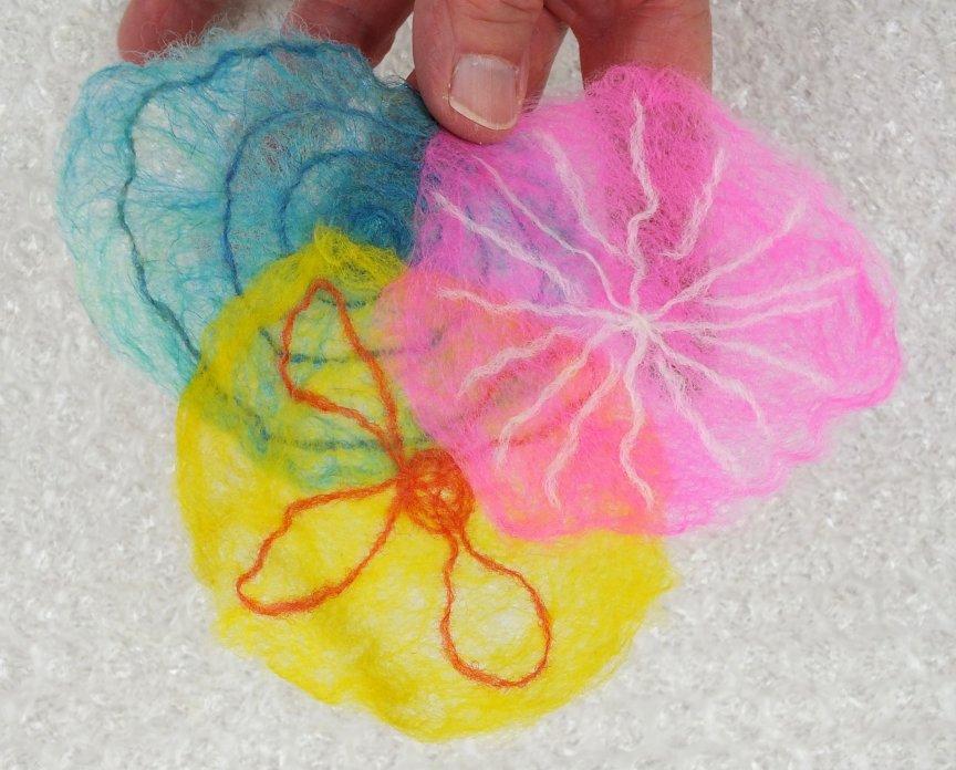 dry cobweb felt
